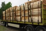 Holzpfaehletransport